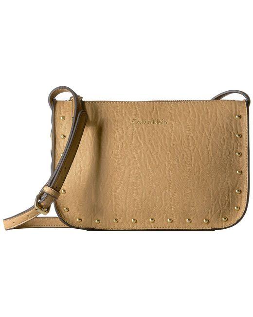 Calvin Klein - Multicolor Novelty Studded Crossbody (pale Rose) Cross Body Handbags - Lyst