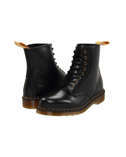 Dr. Martens | Black 1460 Vegan 8-eye Boot | Lyst