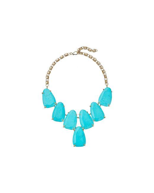 Kendra Scott | Blue Harlow Necklace | Lyst