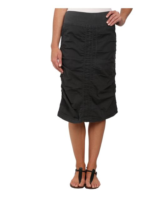 XCVI | Black Trace Back Skirt | Lyst