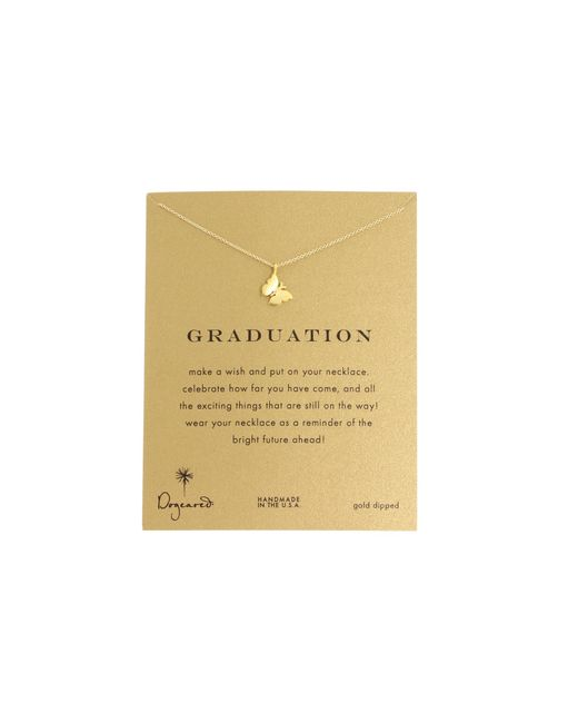 """Dogeared   Metallic Graduation Necklace 16""""   Lyst"""