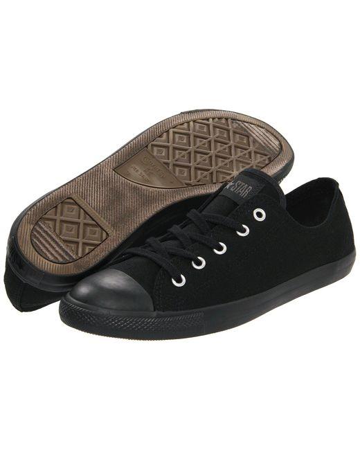 Converse   Black Chuck Taylor® All Star® Dainty Ox   Lyst