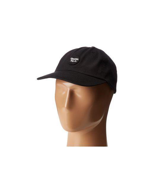Brixton   Black Wheeler Cap for Men   Lyst