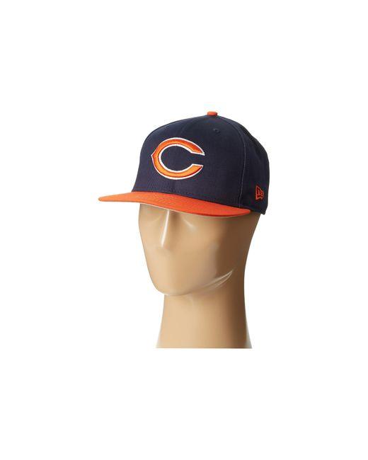 KTZ | Blue Nfl Baycik Snap 59fifty - Chicago Bears for Men | Lyst