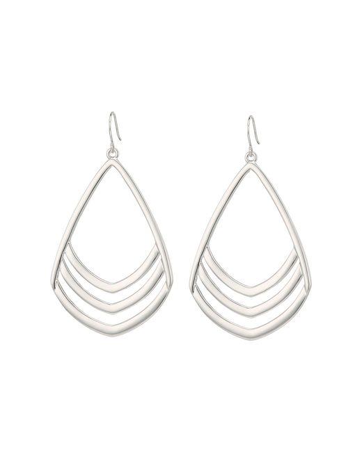 Vince Camuto - Metallic Chevron Drop Earrings (gold) Earring - Lyst