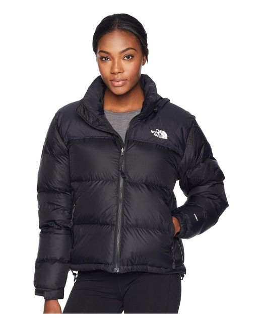 The North Face - Black 1996 Retro Nuptse Jacket (tnf Medium Grey Heather) Women's Coat - Lyst