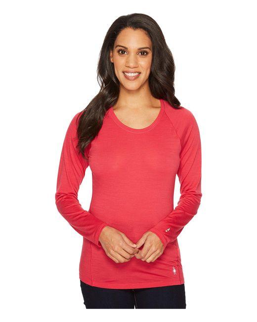 Smartwool - Pink Merino 150 Baselayer Pattern Long Sleeve - Lyst