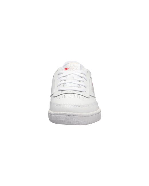 c1480638765 Lyst - Reebok Club C 85 (white light Grey gum) Women s Shoes in Gray ...