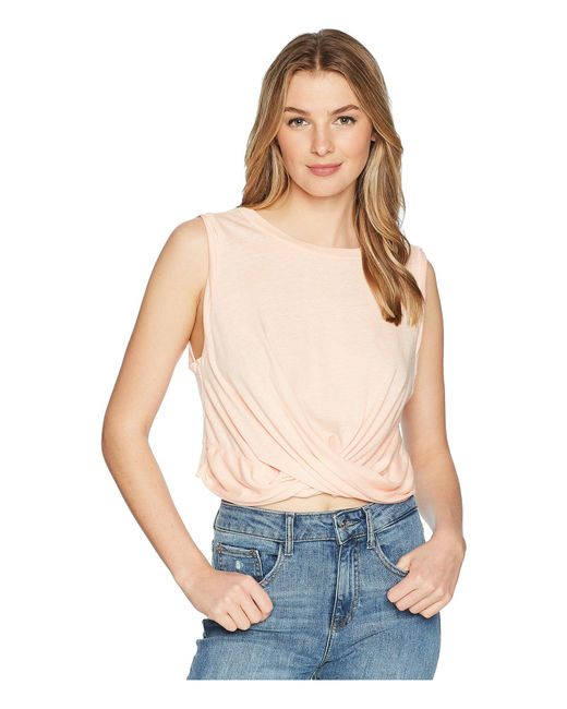 Free People - Natural Undertow Tank Top - Lyst