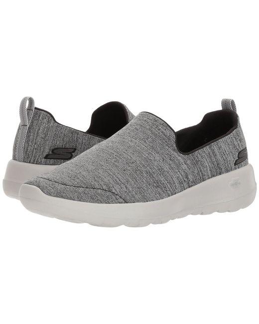 b0bd6da81b0d Lyst - Skechers Go Walk Joy - Enchant (gray) Women s Slip On Shoes ...