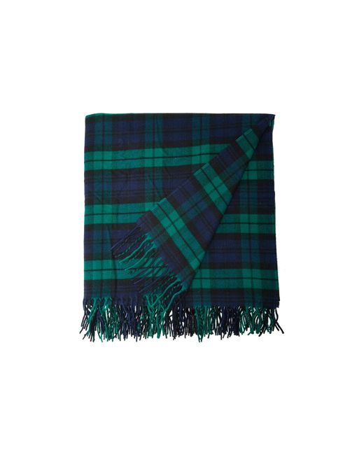 Pendleton - Plaid 5th Avenue Throw (navy/green) Blankets for Men - Lyst