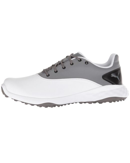 2512680367ef ... PUMA - Gray Grip Fusion (puma White quiet Shade puma Black) Men s ...