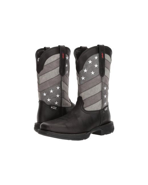 Durango - Gray Rebel 12 Flag (black/charcoal/grey) Cowboy Boots for Men - Lyst