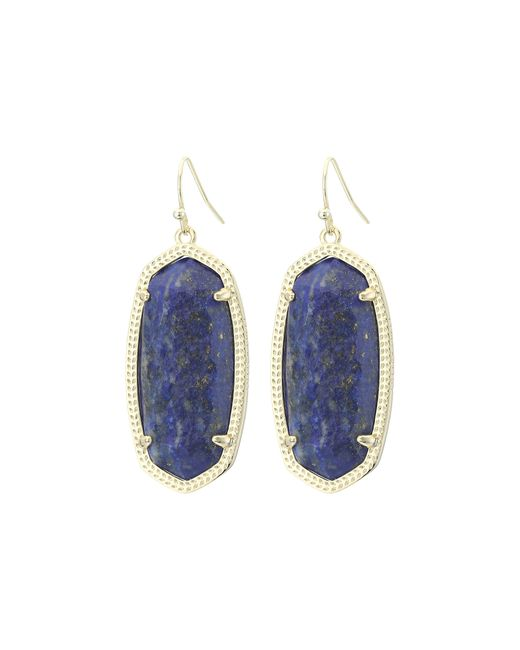 Kendra Scott | Blue Elle Earrings | Lyst