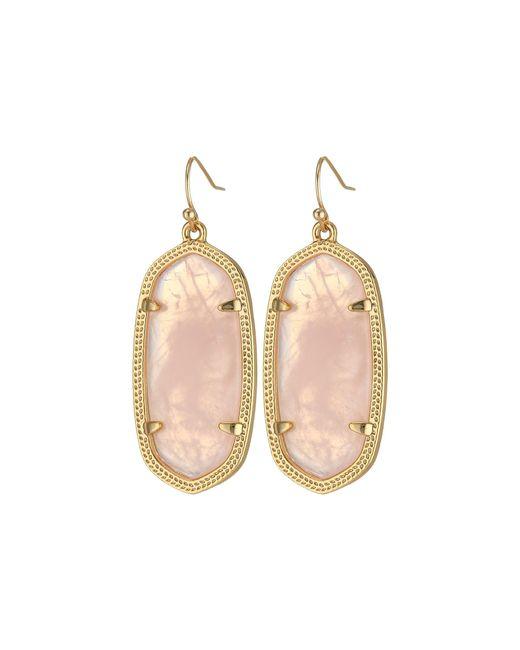 Kendra Scott | Pink Elle Earring | Lyst