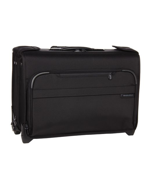 Briggs & Riley | Black Baseline Carry-on Wheeled Garment Bag 2 | Lyst
