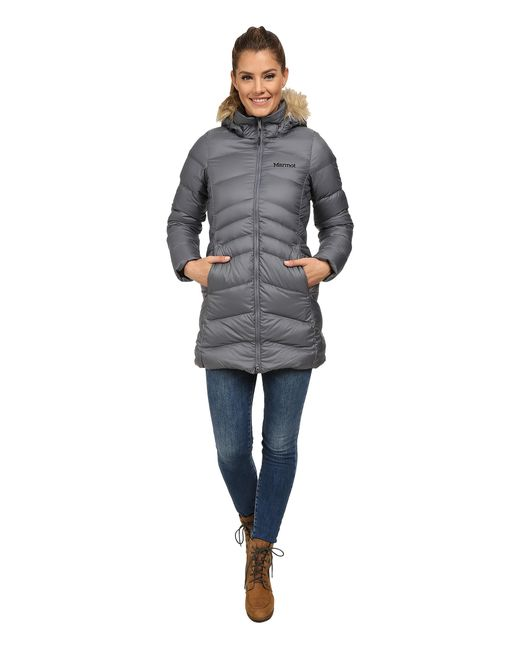 Marmot | Gray Montreal Coat | Lyst