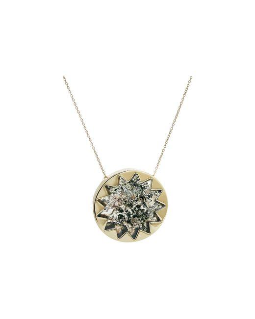 House of Harlow 1960 | Metallic Sunburst Pendant Necklace | Lyst