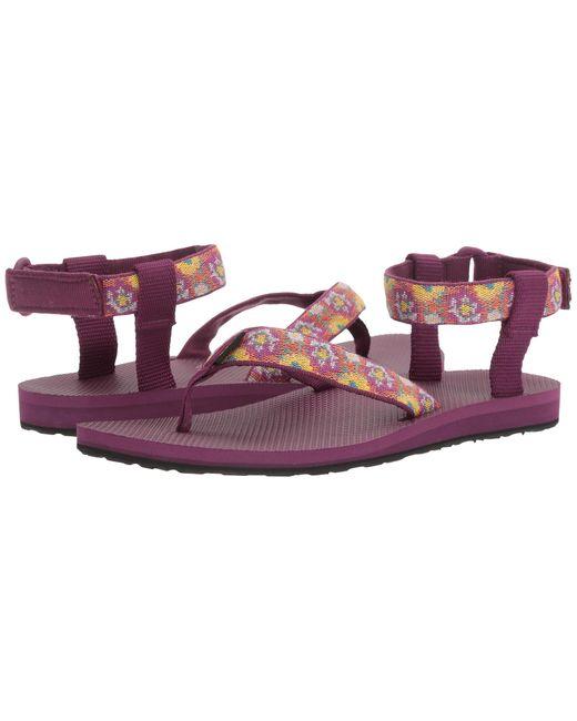Teva | Purple Original Sandal | Lyst