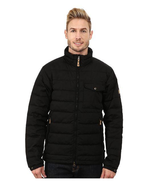 Fjallraven   Black Övik Lite Jacket for Men   Lyst