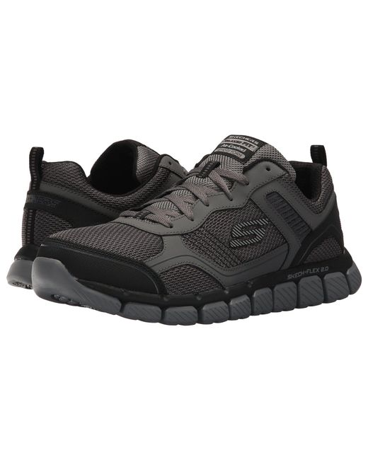 706c23f84ae2 Lyst - Skechers Skech-flex 2.0 Disby (charcoal black) Men s Shoes in ...