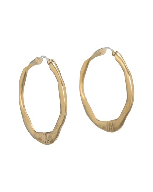 The Sak | Metallic Small Century Metal Hoop Earrings | Lyst