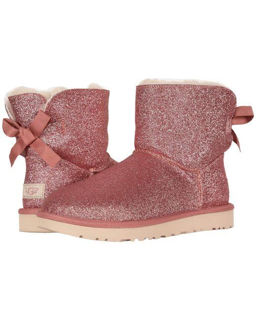eebaa346795 cheap womens pink bailey bow ugg boots 90bd3 9e2b2