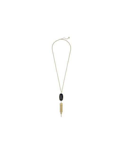 Kendra Scott | Black Rayne Necklace | Lyst