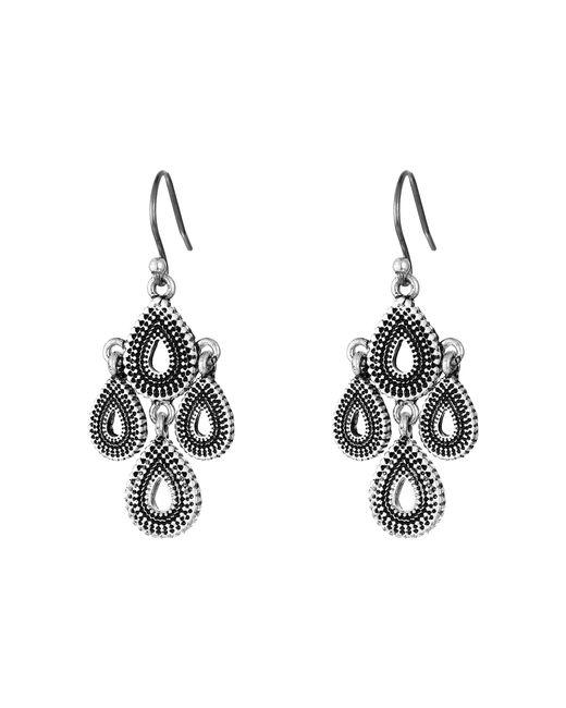 Lucky Brand | Metallic Blue Moon Moveable Chandelier Earrings | Lyst