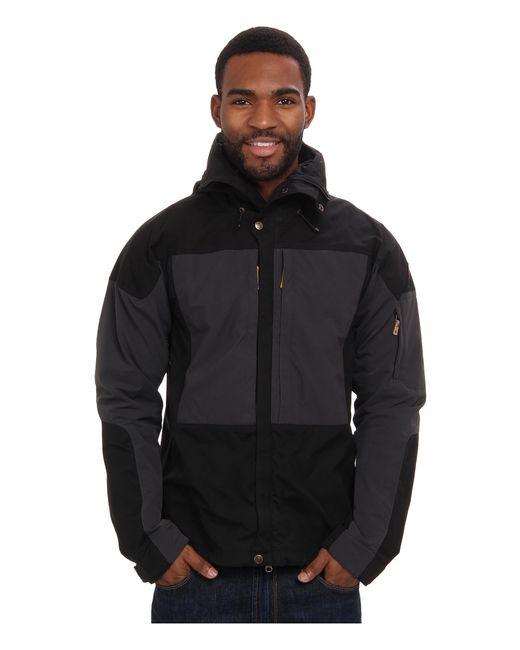 Fjallraven   Black Keb Jacket for Men   Lyst