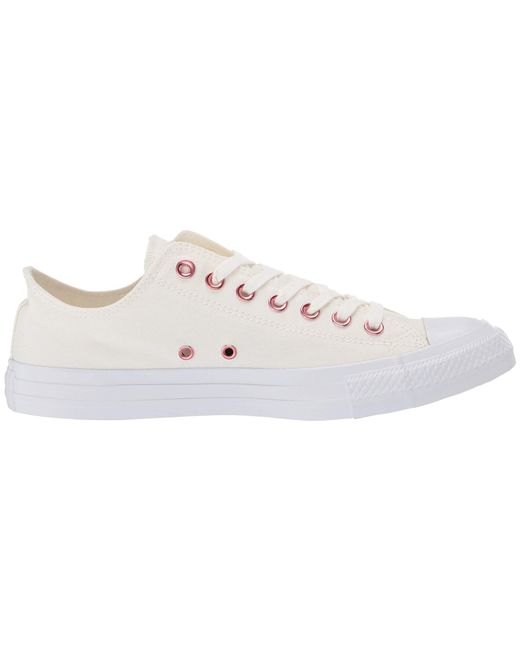 de8223ac9a0351 Lyst - Converse Chuck Taylor(r) All Star(r) Hearts Ox (oxygen Purple ...