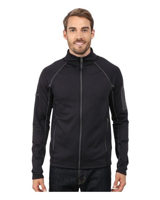 Marmot | Black Stretch Fleece Jacket for Men | Lyst