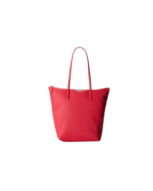 Lacoste | Pink L.12.12 Concept M1 Vertical Tote Bag | Lyst