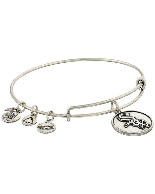 ALEX AND ANI | Metallic Mlb® Chicago White Sox Charm Bangle | Lyst