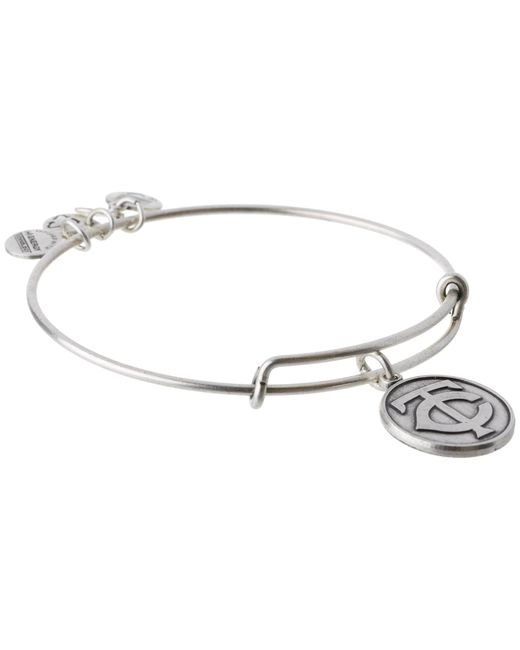 ALEX AND ANI | Metallic Mlb® Minnesota Twins Charm Bangle | Lyst