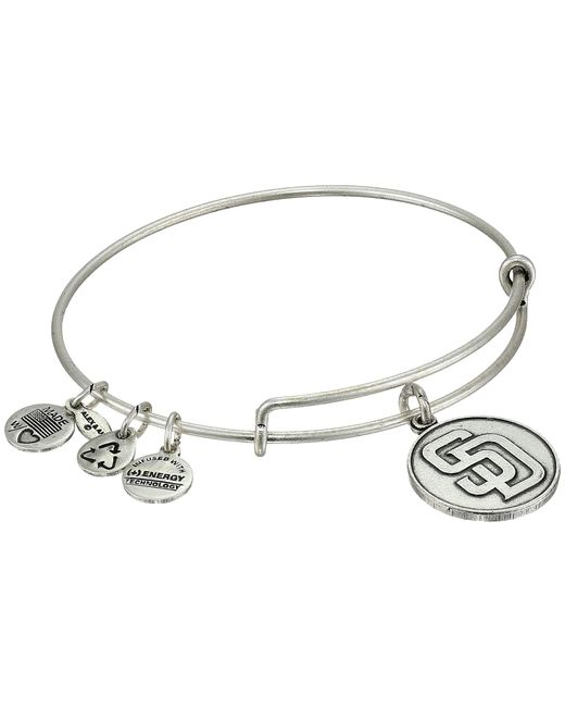 ALEX AND ANI | Metallic Mlb® San Diego Padres Charm Bangle | Lyst