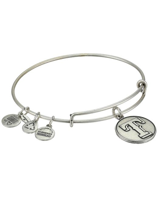 ALEX AND ANI | Metallic Mlb® Texas Rangers Charm Bangle | Lyst