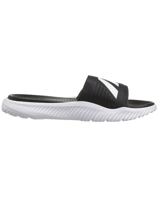 6f2f760606d ... Adidas - Alphabounce Slide (footwear White core Black) Men s Slide  Shoes for Men ...
