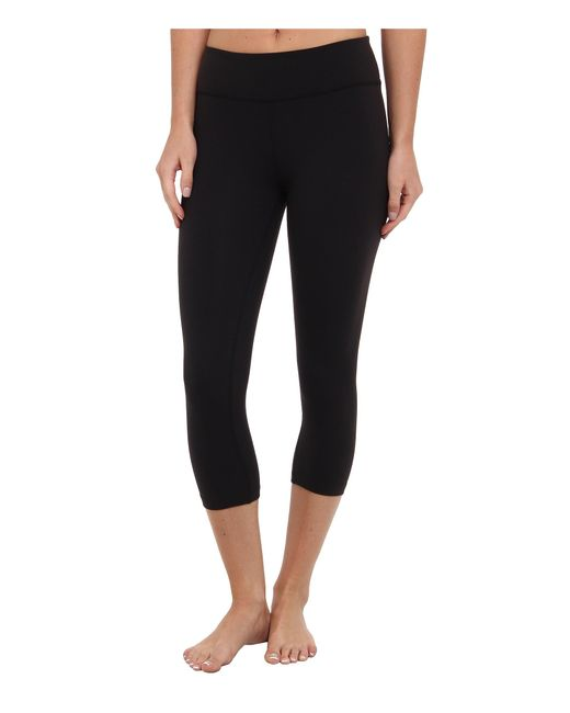 Beyond Yoga | Black Capri Legging | Lyst