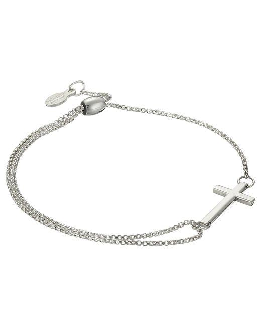 ALEX AND ANI - Metallic Precious Ii Collection Cross Adjustable Bracelet (gold Plated Finish) Bracelet - Lyst
