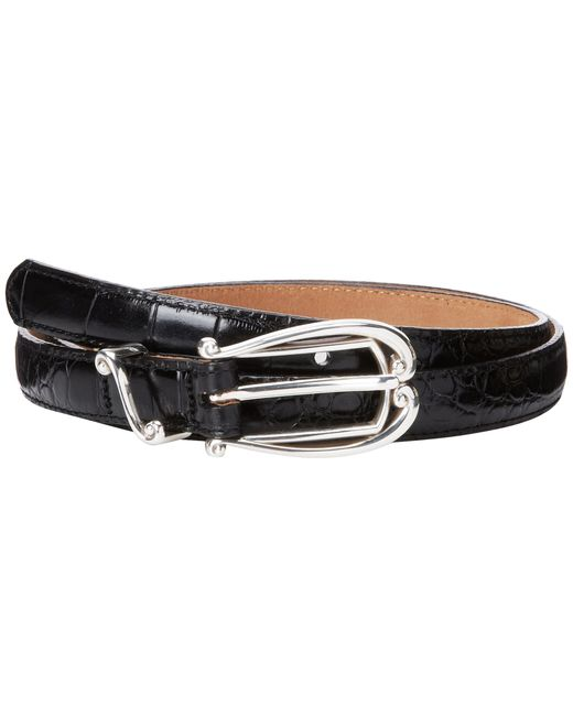 "Brighton | Black Temptation Classic 3/4"" Belt 