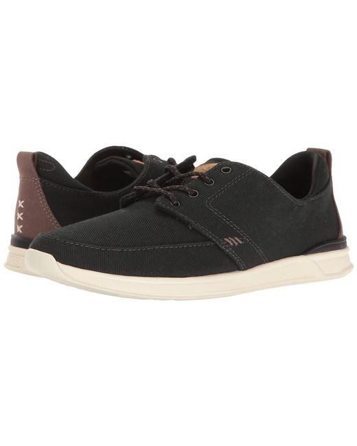Reef | Black Rover Low for Men | Lyst