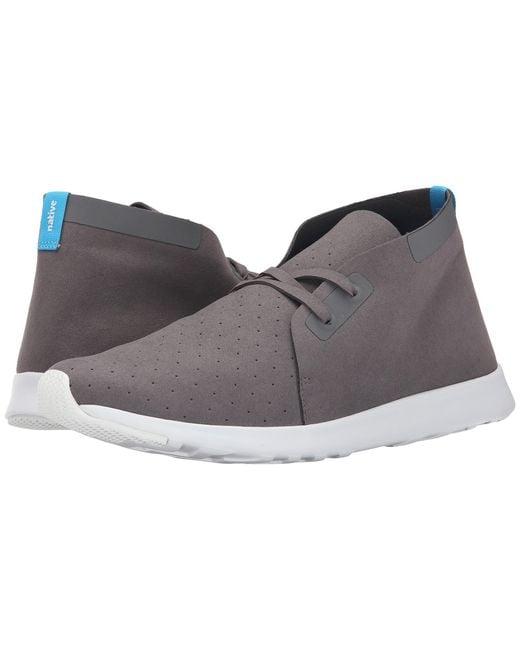 Native Shoes | Gray Apollo Chukka | Lyst