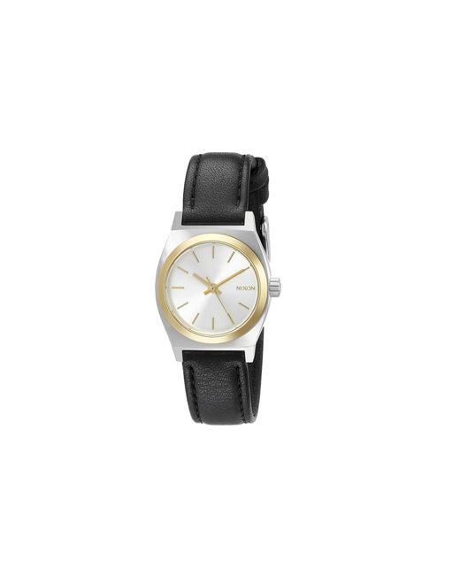 Nixon | Metallic Small Time Teller Leather | Lyst