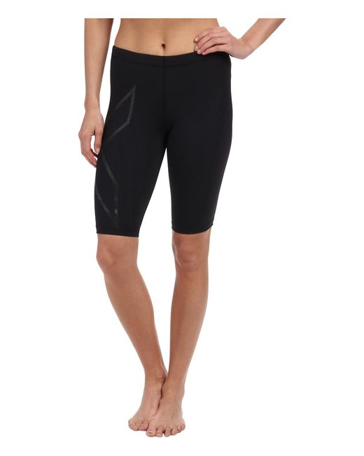 2xu | Black Elite Mcs Compression Short | Lyst