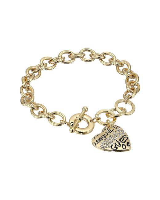 Guess | Metallic Toggle Bracelet I | Lyst