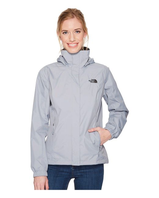 The North Face - Gray Resolve 2 Jacket (tin Grey/high Rise Grey) Women's Coat - Lyst