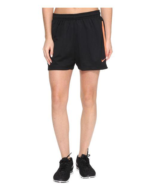 Nike | Black Dri-fittm Academy Knit Shorts | Lyst