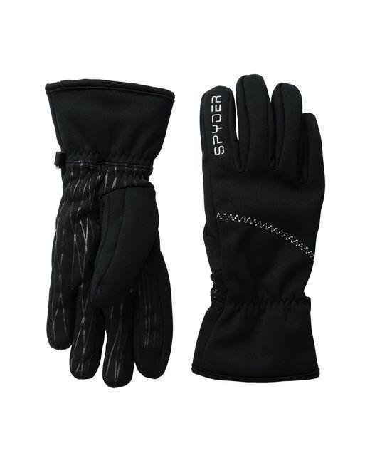 Spyder | Black Facer Conduct Ski Glove | Lyst