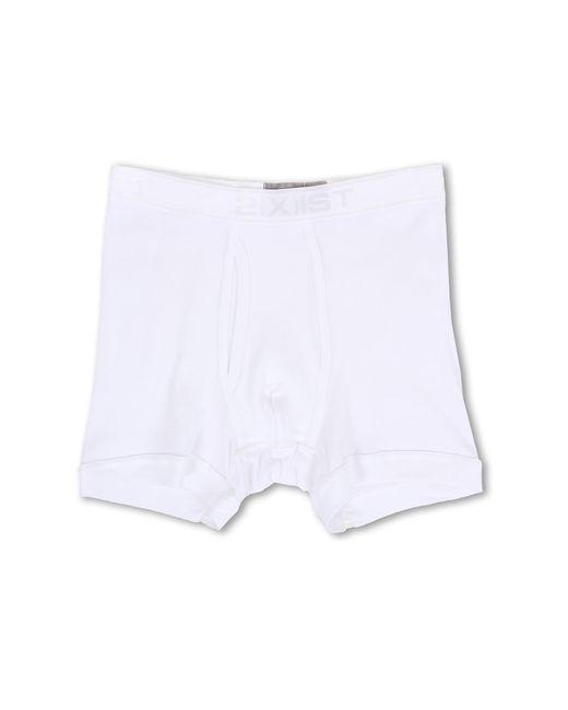 2xist | White Pima Boxer Brief for Men | Lyst